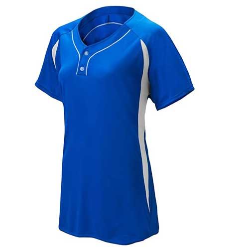 Womens bold blue t shirt