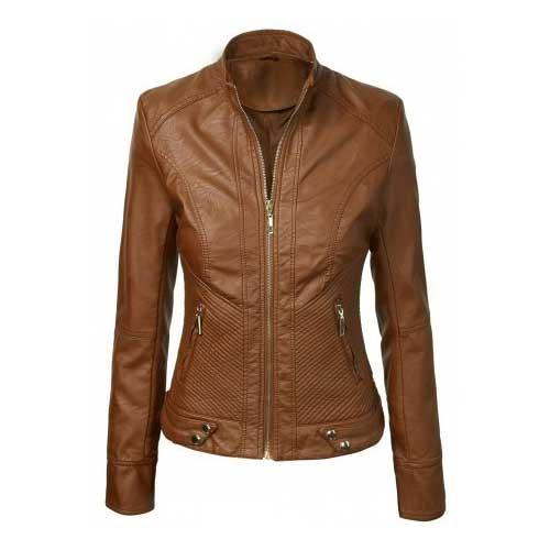 Womens brown jacket