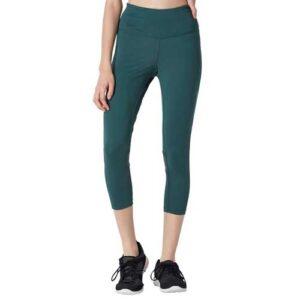 Wholesale Women's Green Capri Leggings