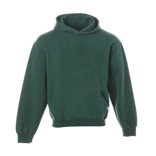 Womens green sports hoodie