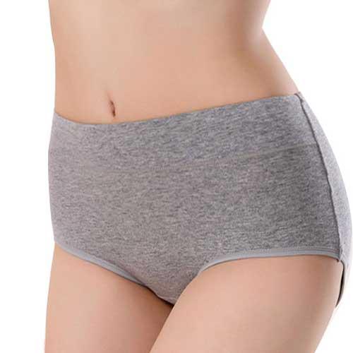 Womens grey hipster underwear