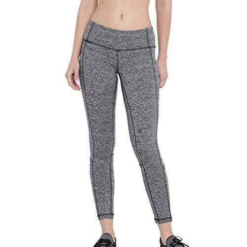 Wholesale Women's Grey Melange Leggings