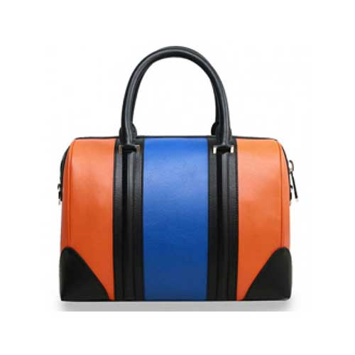 Womens multi color bucket bag