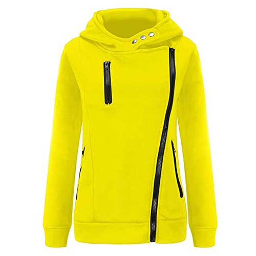 Womens neon green jacket