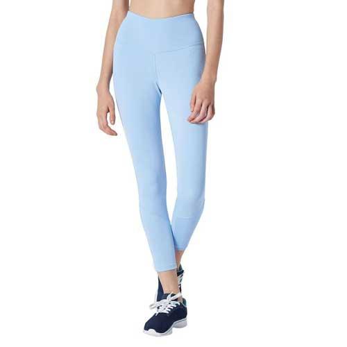 Wholesale Wholesale Women's Pastel Blue Seamless Leggings