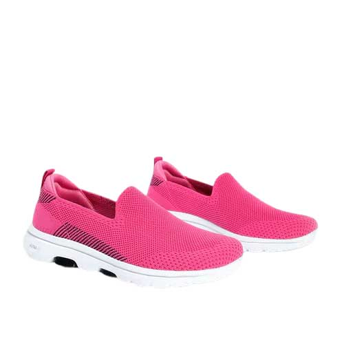 Womens pink canvas shoe