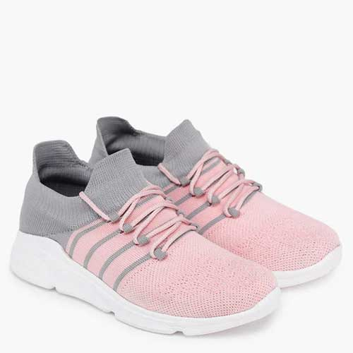 Womens pink running shoes