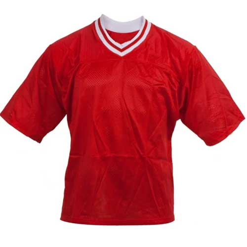 Womens red sports tee