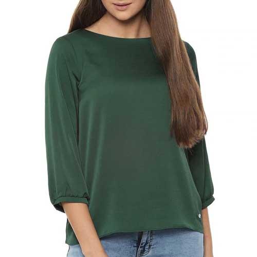 Womens sage green top