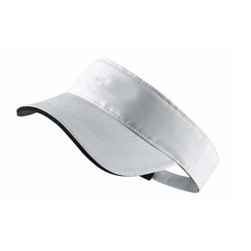 Womens white visor hat