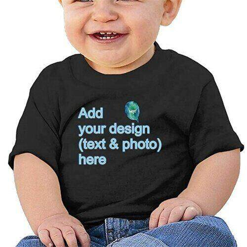 Wholesale Toddler's Black Tee