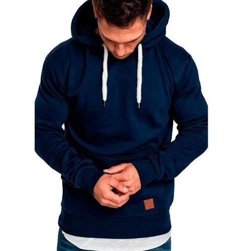 Wholesale Blue Men's Hoodie