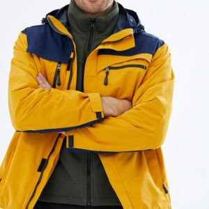 Wholesale Blue and Yellow Jacket Manufacturer