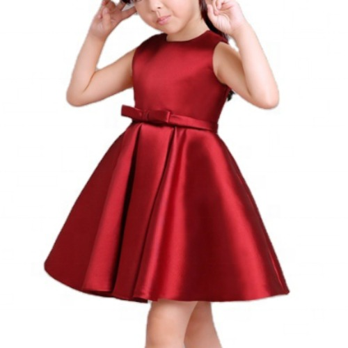 Wholesale Girl's Red Blingy Frock
