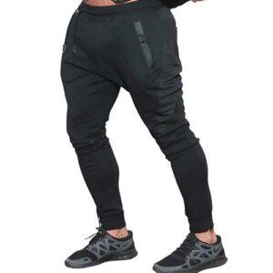 Wholesale Men's Black Gym Joggers