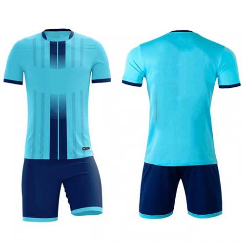 mens blue sports jersey set