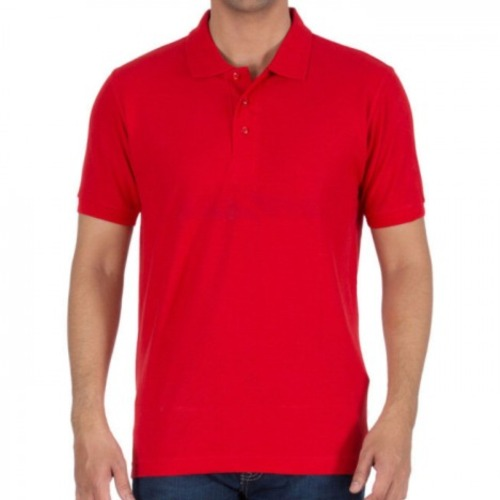 Wholesale Men's Cherry Red Polo T-shirt