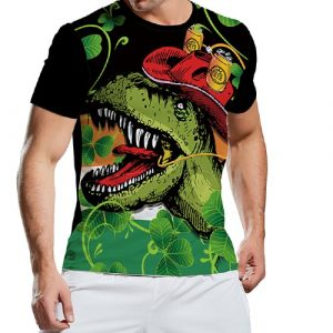 Wholesale Men's Colourful Printed Tee
