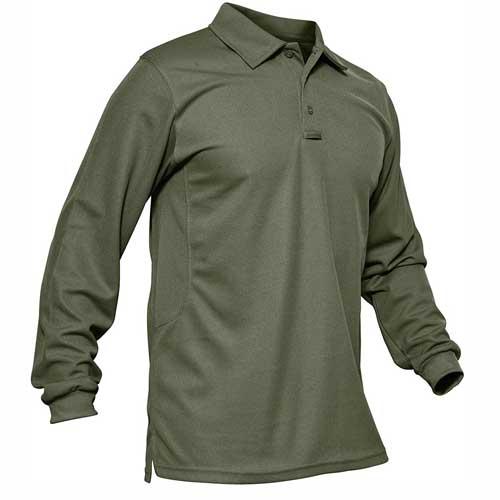 mens moss green sports t shirt