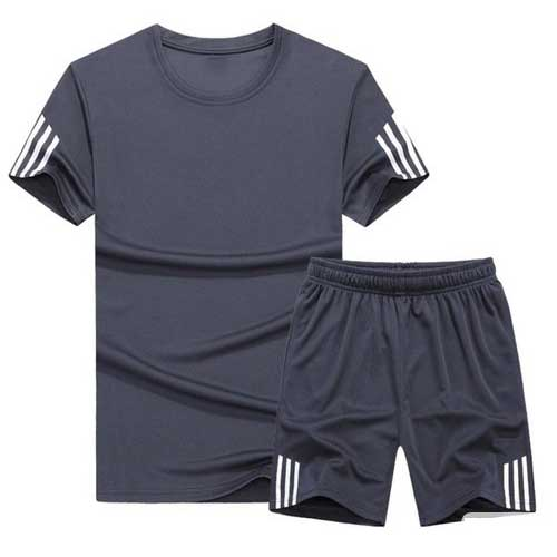 mens neutral blue jersey set