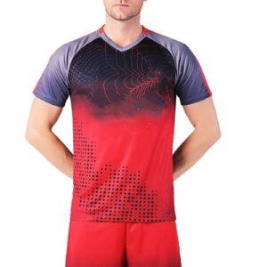 Wholesale Men's Red & Black Jersey