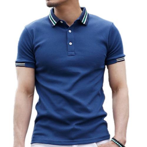 Wholesale Men's Royal Blue T-shirt Manufacturer