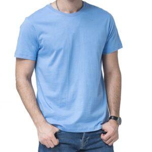 Wholesale Men's Sky Blue Workout Tee