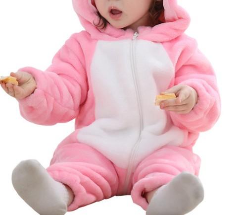 Wholesale Girl's Pink Jumpsuit