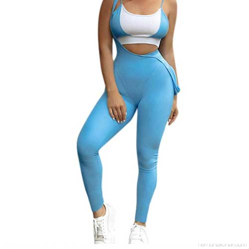 womens spandex fitness suit