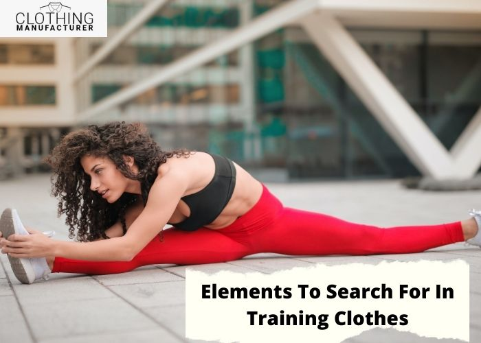 workout clothes manufacturers
